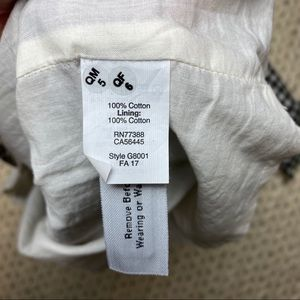 Madewell Dresses - EUC Madewell Ruffle Gingham Shift